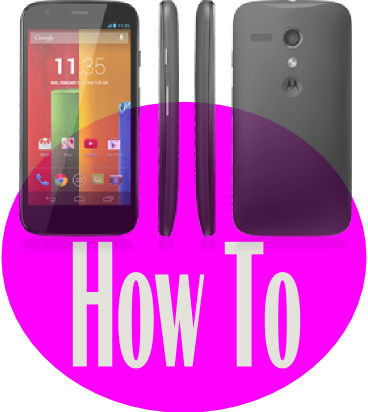 moto g how to guide