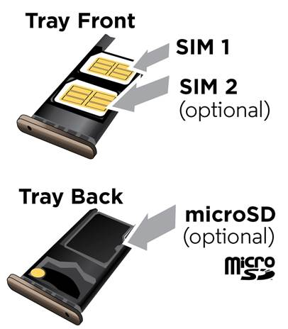 insert Moto G5 Plus SIM card
